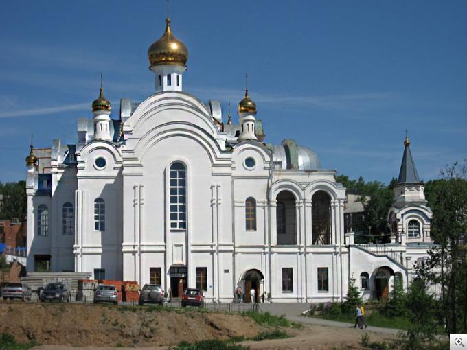 Реставрация церкви в г. Златоуст